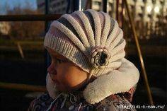 chapeau mignon bébé en tricot, à tricoter chapeau de bébé enfant comment attacher un chapeau de bébé aiguilles à tricoter Knitting, Crochet Beanie Baby régime Knitting,