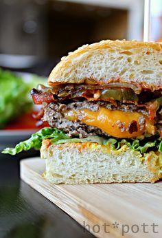 hot*pott // Burger Buns und der Jucy Lucy