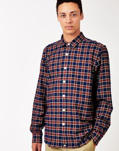 New In   Dickies Oldenburg Check Shirt in Blue   Shop all men's clothing at The Idle Man