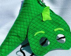 PJ Masks Gecko mask and tail by theAwesometropolis on Etsy