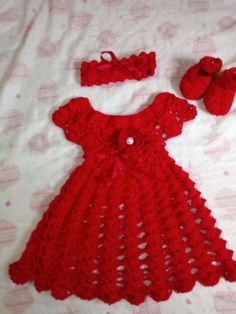 Crochet Daisy, Baby Knitting Patterns, Designer Dresses, Summer Dresses, Holiday Decor, Sweaters, Kids, Fashion, Crochet Baby Dresses