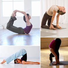Yoga Poses to Relieve Congestion~ do a mini-yoga sequence at home to open up your chest and send fresh blood to your head. If you are looking for a little workout too, simply complete a few sun salutations in between each congestion-soothing posture.  This really works and feels so good.