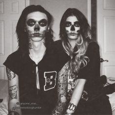 WOW, Halloween ideas brewing ;) Andy and Juliet.