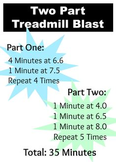 two-part-treadmill 4 Minutes at 1 Minute at Repeat 4 Times 1 Minute at 1 Minute at 1 Minute at Repeat 5 Times Treadmill Workouts, Running On Treadmill, Fit Board Workouts, Running Workouts, Walking Workouts, Butt Workouts, Running Tips, Running Motivation, Fitness Motivation
