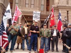 """Texans Celebrate Open Carry with 'Uncovering' of Handguns at Capitol.........   Nearly two hundred open carry advocates gathered on the south steps of the Texas State Capitol to celebrate """"uncovering day"""" for gun owners who are licensed to carry."""