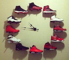 Jordan 1-12 Wall Clock