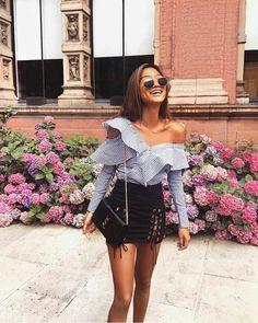 25 charming summer fashion outfits ideas for women 3 Look Fashion, Fashion Outfits, Womens Fashion, Fashion Tips, Fashion Trends, Cheap Fashion, Fashion 2018, Fashion Bloggers, Paris Fashion