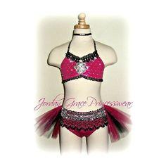 Jordan Grace Princesswear custom dance costumes, dance costumes, jazz... ❤ liked on Polyvore featuring costumes