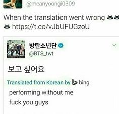 Sounds like Suga, since he got an injury and he couldn't perform, so I think it may be correct =P