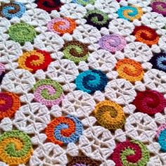 Cheerful, colourful and playful. This is definitely one of my favorite baby blanket patterns! Not to mention a great way to get rid of all those scrap yarns! This one is the original 2-colored version of the Swirl Baby Blanket Pattern.  This is a listing for an instant download PDF crochet pattern and chart.  Pattern is written in American English crochet terms and also includes a crochet chart and a lot of photos.  I try to make the patterns as easy to follow as possible. Please feel free…