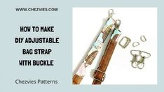 An adjustable strap is a nice feature on a bag, but many people avoid it because it seems so confusing. They're actually not hard at all to do and require just one extra piece of hardware. Chezvies has a video … Read more ...