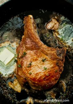 Perfect Pork Chops - Tender and juicy #pork_chops #food