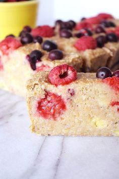 Vegan Berry Banana Bread
