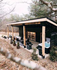 Tiny House Cabin, Tiny House Living, Modern Tiny House, Small Modern Cabin, Tiny House Village, Small Log Cabin, Tiny House Blog, Tiny House Community, Best Tiny House