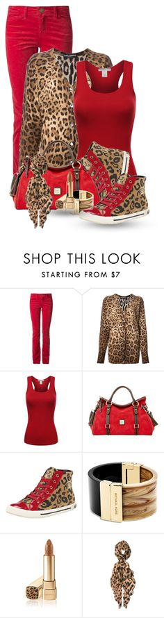 """""""Dolce & Gabbana and Armani"""" by flowerchild805 on Polyvore featuring Current/Elliott, Dolce&Gabbana, Dooney & Bourke, Armani Jeans, Michael Kors, Feather & Stone, women's clothing, women, female and woman"""