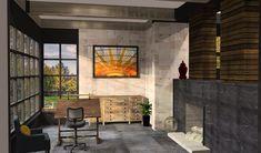 TV homes floor plans