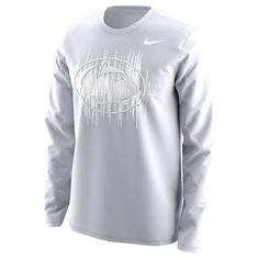 Men's Nike White Penn State Nittany Lions 2017 Student Long Sleeve T-Shirt Lions Team, Nittany Lion, Team Gear, White Nikes, Graphic Sweatshirt, T Shirt, Nike Men, Student, Sweatshirts