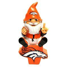 Denver Broncos NFL Gnome On Team Logo
