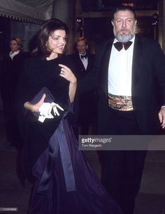 New York February 18th 1976. Jackie Onassis and John Sargent