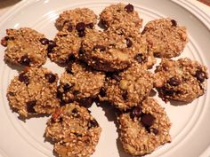Steel Cut Oatmeal Chocolate Chip Cookies