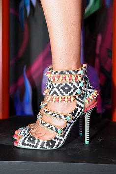 """The Best Shoes, Bags, and Baubles on the 2015 Runways (So Far): You don't have to be a self-proclaimed """"shoe person"""" or """"bag person"""" to appreciate the accessories coming down the Spring 2015 runways."""