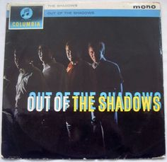 """£3.99 Ebay Auction.  The Shadows - Out Of The Shadows - Columbia 33SX 1458 - Blue/Black Labels  The original UK 1962 release complete with flipback sleeve and blue/black Columbia labels.  Early stampers and """"MT"""" tax coding on the centre."""