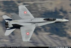 -) - Photo taken at Axalp [OFF AIRPORT] in Switzerland on October Air Force Aircraft, Navy Aircraft, Aircraft Photos, Military Jets, Military Aircraft, Luftwaffe, Air Fighter, Fighter Jets, F18 Hornet