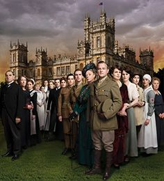 Elizabeth McGovern, Maggie Smith, Hugh Bonneville, Jim Carter, Brendan Coyle, Siobhan Finneran, Joanne Froggatt, Phyllis Logan, Lesley Nicol, Penelope Wilton, Amy Nuttall, Dan Stevens, Robert James-Collier, Michelle Dockery, Thomas Howes, Sophie McShera, Jessica Brown Findlay, and Laura Carmichael in Downton Abbey (2010)