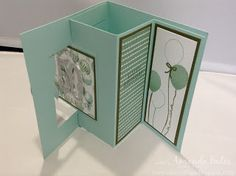 The Craft Spa - Stampin' Up! UK independent demonstrator : Birthday Bouquet Pop Out Swing Cards - Twins!