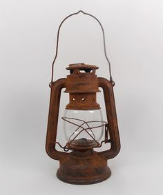 Take a look at this Rust Oil Lamp by Craft Outlet today!  http://www.zulily.com/invite/Zulily20Store