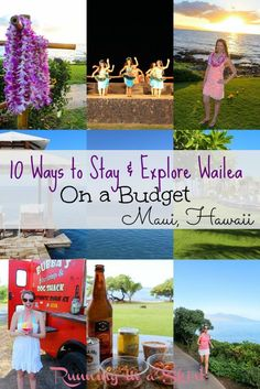 Maui, Hawaii - 10 Ways to Explore Wailea on a Budget- Wailea Beach Marriott Resort Review. Beaches, resorts, luau sunsets and pools in paradise! | Running in a Skirt