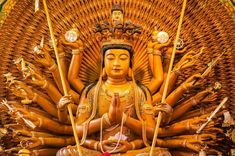 Concealed within the dark wooden walls of Sanjusangendo are a 1001 statutes of the Goddess of Mercy, all built to human scale.