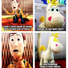 Image result for there is no way out toy story meme