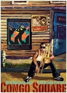 New Orleans Jazz Festival posters
