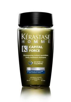 hairbodyproducts.com FREE DELIVERY BEST PRICES ONLINE KÉRASTASE HOMME, HAIR WITH DANDRUFF, HOMME, BAIN CAPITAL FORCE