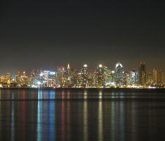 San Diego Harbor/City Lights