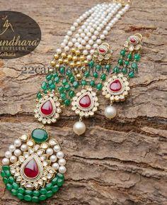Beads Set by Vasundhara Fine Jewelry - Jewellery Designs
