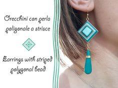 Ice Blue Diamond Tile Polymer Clay Necklace/Pendant Tutorial   Velvetorium   軟陶, Arcilla Polimérica - YouTube