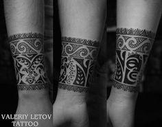 Maori tattoo by Valeriy Letov
