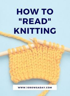 The main knitting skill (especially for beginners) 10 rows a day, Knitting is amazing. It makes beautiful knitting projects , Beginner Knitting Patterns, Knitting Basics, Easy Knitting Projects, Knitting Stitches, Knitting Needles, Knitting Machine, Knitting For Beginners Projects, Knitting Increase, Knitting Help