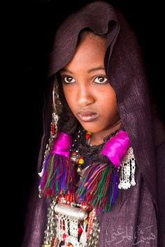 "Africa | ""Girl from Ghadames"". Libya | ©Haitham Elmerghani"
