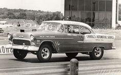 Vintage Drag Racing - 55 Chevy