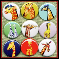 This item is unavailable Giraffe Art, Giraffe Images, Elephant, Sent Pins, Cute Stories, Vintage Barbie Dolls, Illustrations, S Pic, Giraffes