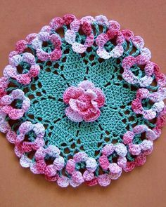 BC007 - Dainty Little Doilies Pattern Download - Robyn Doily