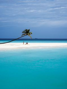 Let's go to the beach. Halaveli Island beach in the Maldives. Places Around The World, Oh The Places You'll Go, Places To Travel, Travel Destinations, Places To Visit, Dream Vacations, Vacation Spots, Vacation Deals, The Beach