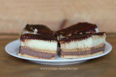 Kaszowiec - ciasto z kaszy manny (bez pieczenia)
