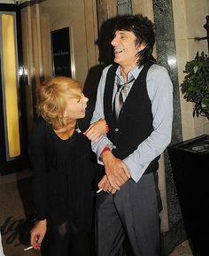 Ronnie Wood and his young Russian lover have giggling fit on night out - Photo 1 Russian Love, Emotional Rescue, Ronnie Wood, Feel Fantastic, Strictly Come Dancing, Broken Relationships, Family First, Take Care Of Yourself