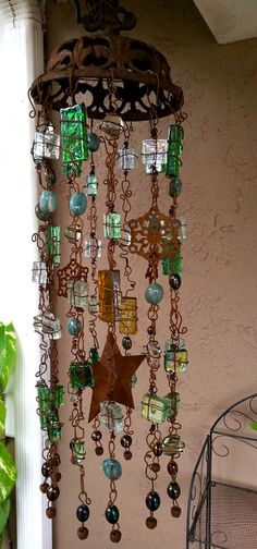 Rust in the Wind Windchime by NidoBeatoCreations on Etsy, $45.00