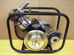 SV-2 MK II Stirling engine generator assembled 2 Off Grid Electric, Stirling Engine, Power Energy, Sun Power, Energy Projects, Small Engine, Steam Engine, Electrical Engineering, Alternative Energy