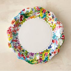 Floral print disposable plates: http://www.stylemepretty.com/living/2015/05/15/girly-grill-inspiration-for-your-next-bbq-bash/